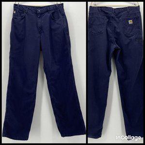 Carhartt Cat 2 2112 Original Fit Navy Blue Pants